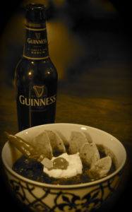 You can't go wrong with a guinness chili recipe.