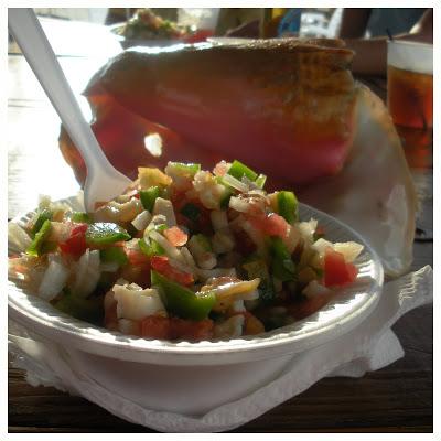 Conch Salad, Bahamian Ceviche