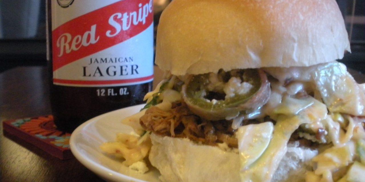Pulled Pork Tenderloin Sliders with Eastern NC Vinegar BBQ Sauce