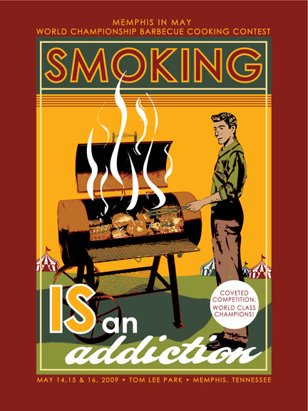 For some, grilling and barbecuing IS an addiction.