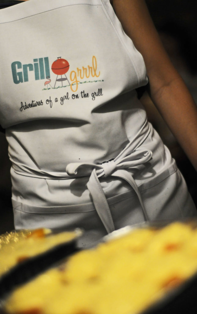 GrillGrrrl logo is unveiled!
