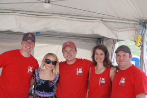 Hanging out with the Pork Barrel BBQ Team.