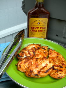 Hoboken Eddie's Thai Chili Sauce is great for grilled chicken with a kick!!