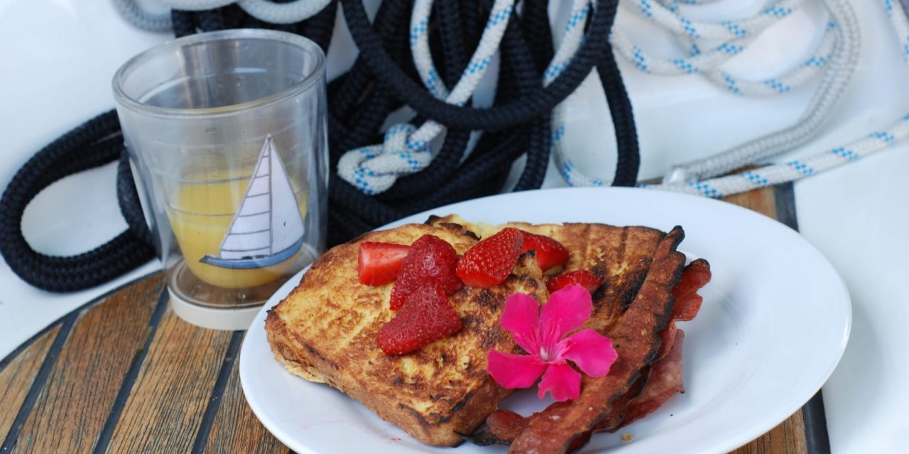 Grilled Bimini Bread French Toast