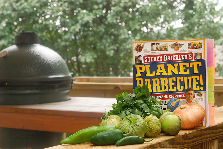 This recipe was adapted from Steven Raichlen's original as found in his book Planet BBQ.