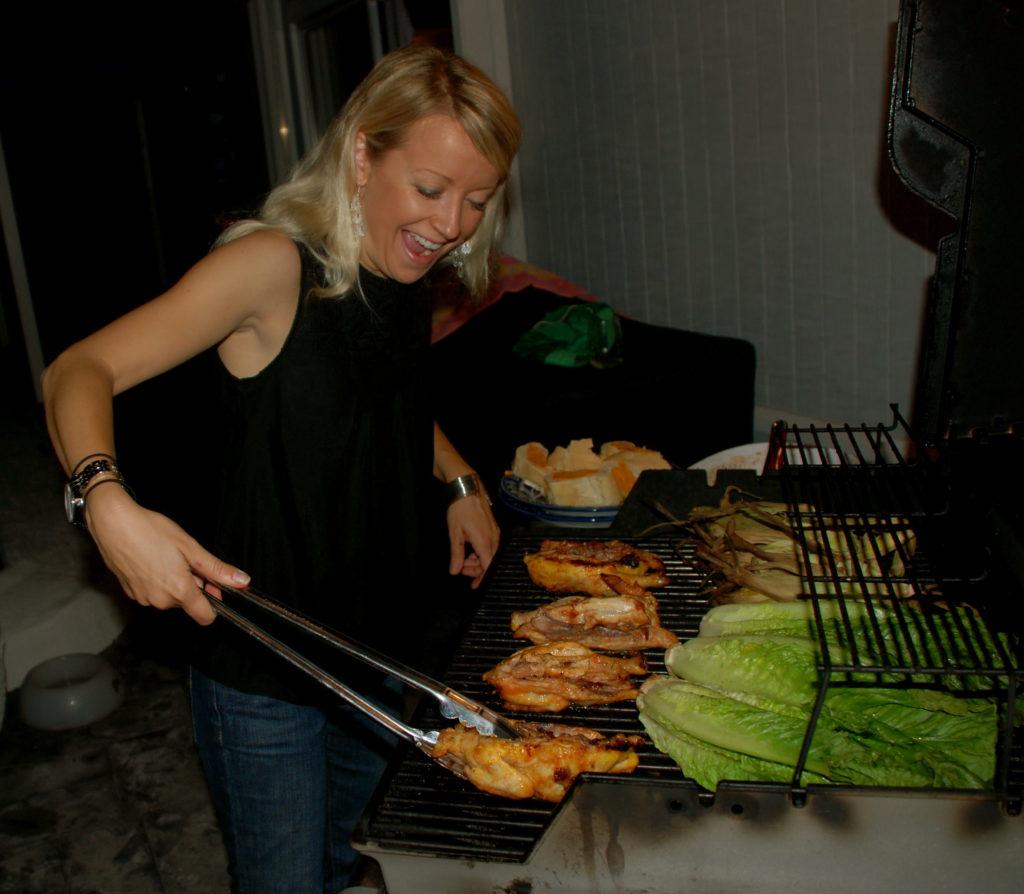 September Women S Grilling Clinic Yields More Female