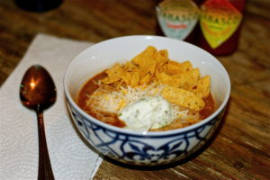 Taco Soup is a delicious way to get dinner on the table without too much fuss!
