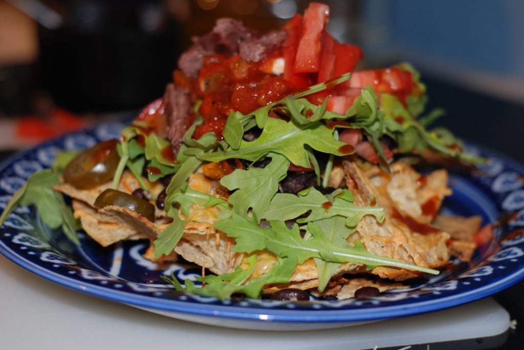 Nachos on the grill, Churrasco Nachos, Robyn Medlin, Grill Girl