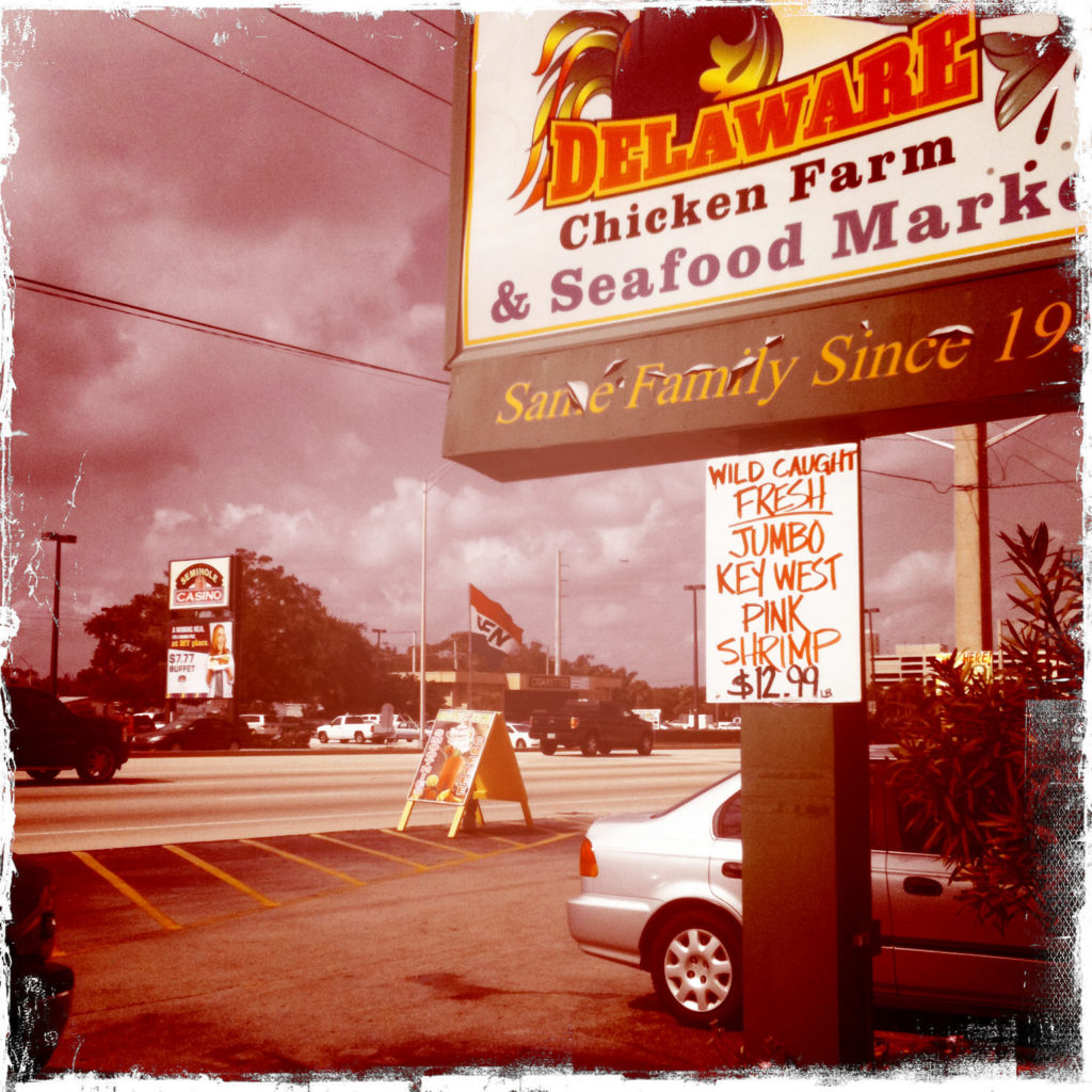 Delaware's Chicken Farm in Hollywood Florida
