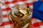 Chris Lilly's grilled pickles