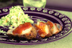 grillgirl, apricot glazed pork tenderloins