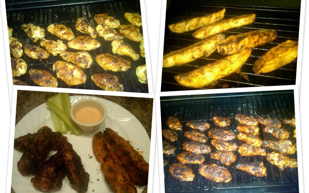 """Readers Share Their Recipes: """"Soon To Be Famous"""" Grilled Wings"""