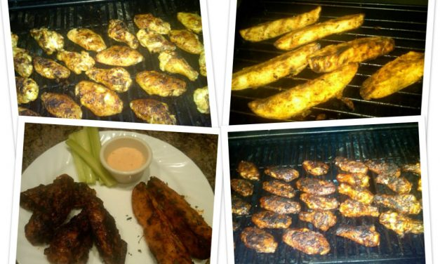 "Readers Share Their Recipes: ""Soon To Be Famous"" Grilled Wings"
