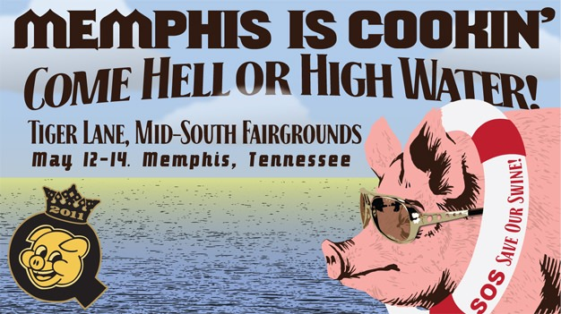 Off To Memphis In May World Championship Barbecue Cooking Contest! #WCBCC11