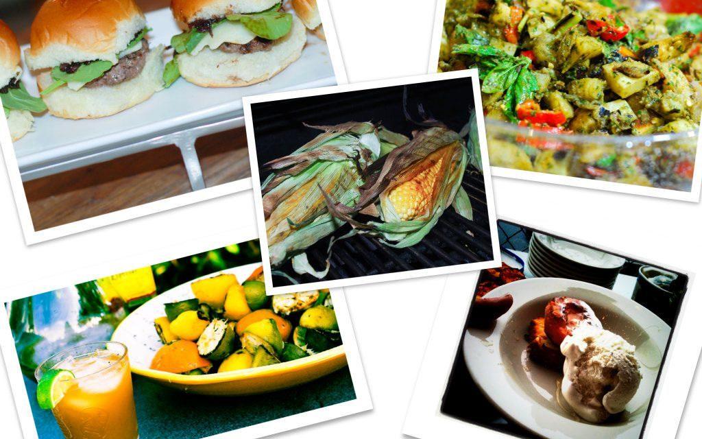 Rockstar 4th of July Grilling Menu: Sliders, Grilled Potato Salad, Grilled Poundcake and Cocktails