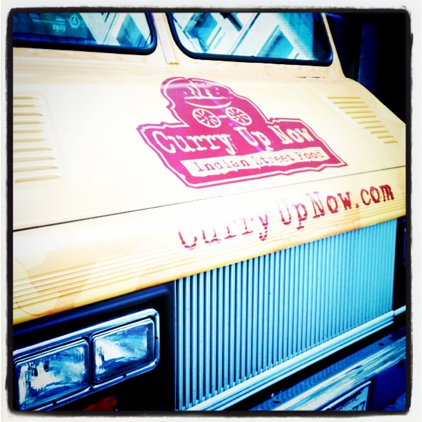 """Foodie Photo of the Day: """"Curry Up Now"""" Food Truck in San Fran"""