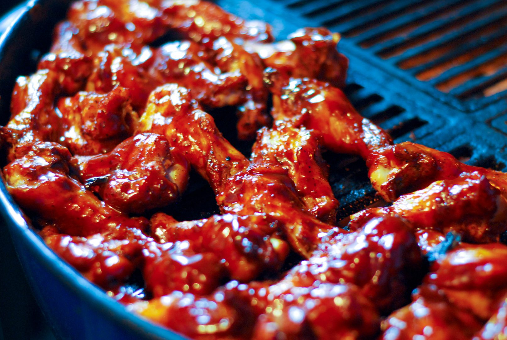 3 types of heat-you can't go wrong with these wings!