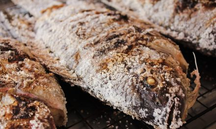 Salt Crusted Fish