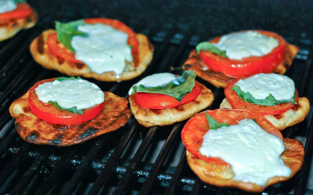 Anthony's Coal Fired Pizza Give Away & My Grilled Mini Caprese Pizza Recipe