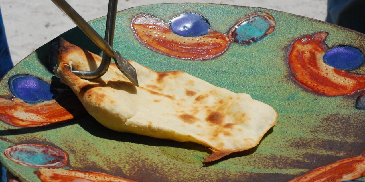 Tandoori Grilling on the Homdoor Grill, plus- a Naan Recipe for the Grill