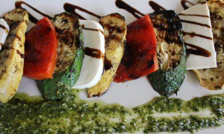 Guest Chef Troy Gagliardo's Grilled Yellow Squash & Zucchini Caprese Salad