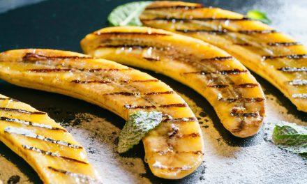 Brown Sugar and Cinnamon Grilled Bananas