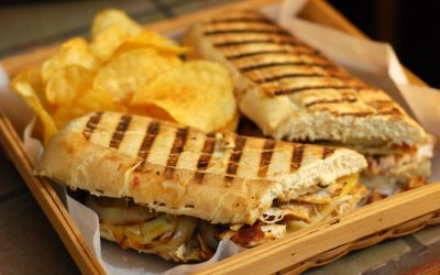 Kicking off the Tailgating 2.0 Series with Bristol Bash 'em Up Paninis