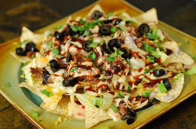 BBQ Nachos – Super Bowl of Nachos