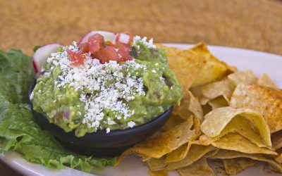 Fire Roasted Key Lime Guacamole