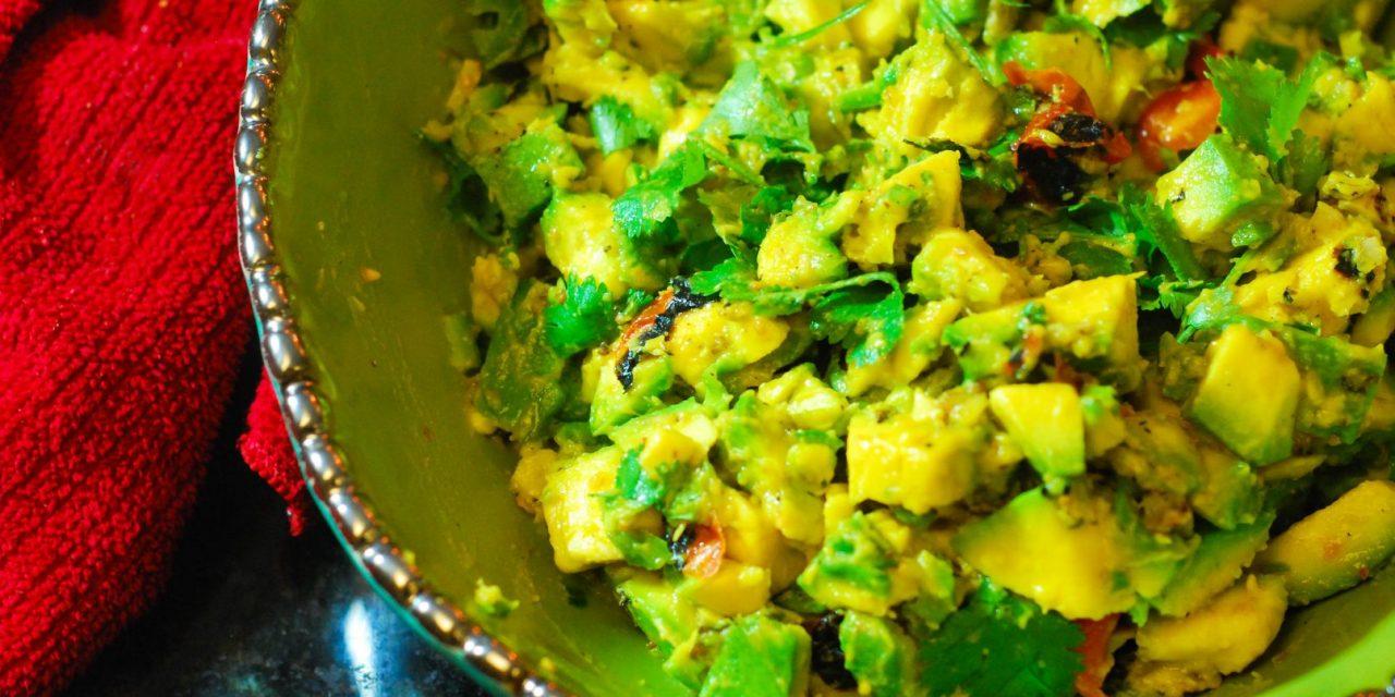 Fire Roasted Key Lime Guacamole