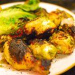 jalapeno pesto, jalapeno cilantro pesto, cilantro pesto chicken, grilled pesto chicken, grilled romaine