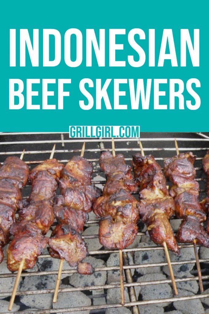 beef skewers