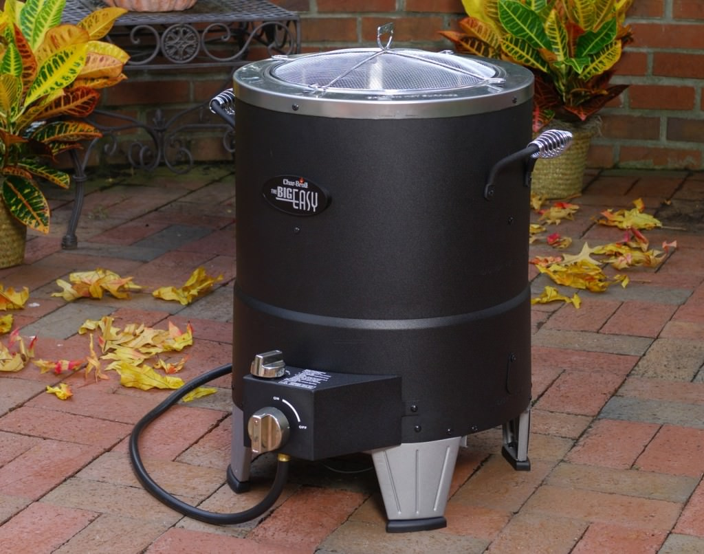 The Char-Broil Big easy oil less turkey fryer