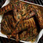 Grilled Turkey, Turkey on the Grill, Chris Lillys grilled turkey recipe