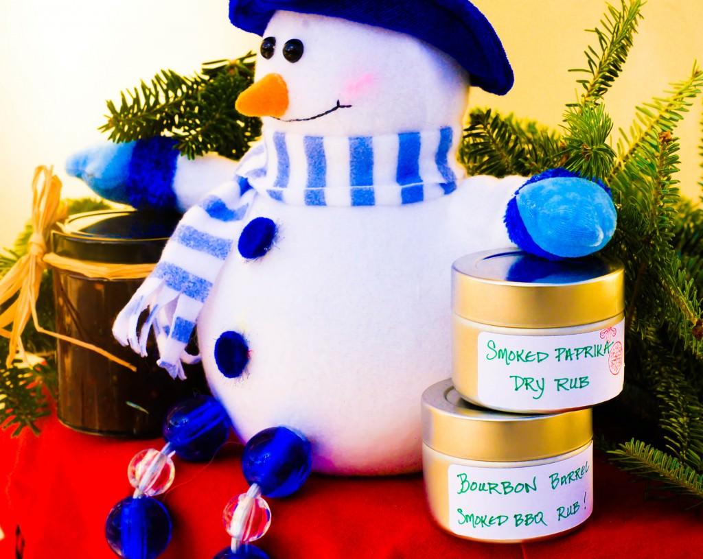 homemade bbq rub for holiday gifts, food gifts for the holiday, bourbon barrel smoked bbq rub, homemade bbq sauce for gifting