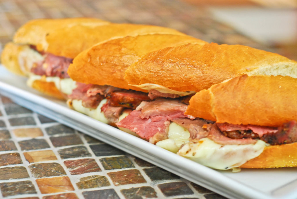 grill girl, French Dip Sandwiches, leftover prime rib