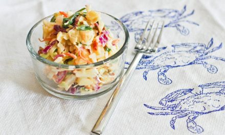 Charleston Style Coleslaw (BEST EVER COLESLAW RECIPE)