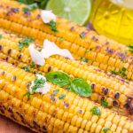Grilled Corn with Coconut Lime Butter