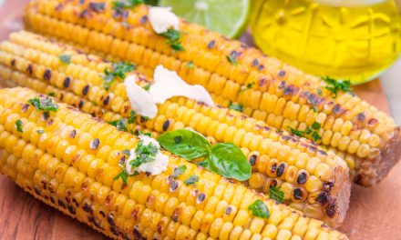 Grilled Corn with Coconut Lime Butter and Pepper Jack Cheese