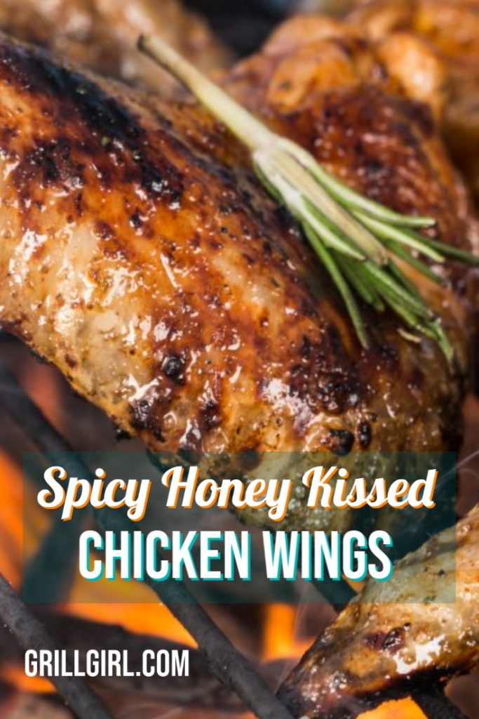 Spicy Honey Chicken Wings