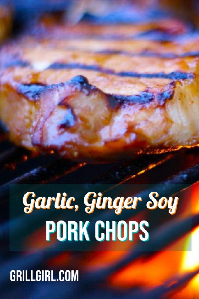 Garlic, Ginger, Soy Pork Chops