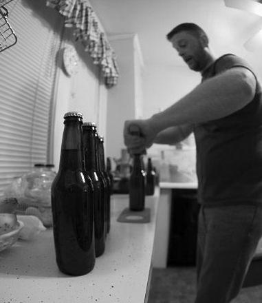 Blake Daniels, Master Home Brewer.