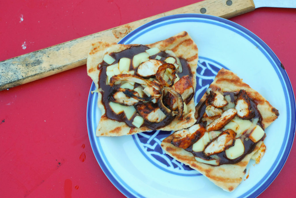 BBQ Sauce Lovers Grilled BBQ Chicken Pizza