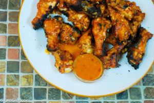 West Indies Wings: coconut milk, curry, ginger and Barbados style hot sauce. YUM!