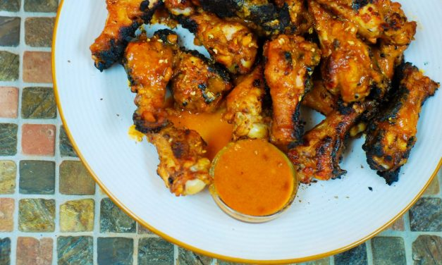 Peanut Butter Chicken Wings