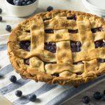 Blueberry Lemon Ginger Pie