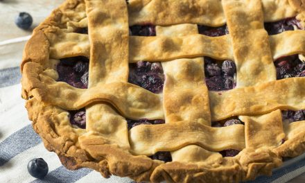 Blueberry Lemon Ginger Pie