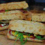 grill girl, Mediterranean sandwiches, picnic lunch