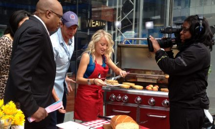 Grilling Is Happiness: Ty Pennington, George Hirsch, Perry Perkins and I Grill Up Some Fun at Ribfest