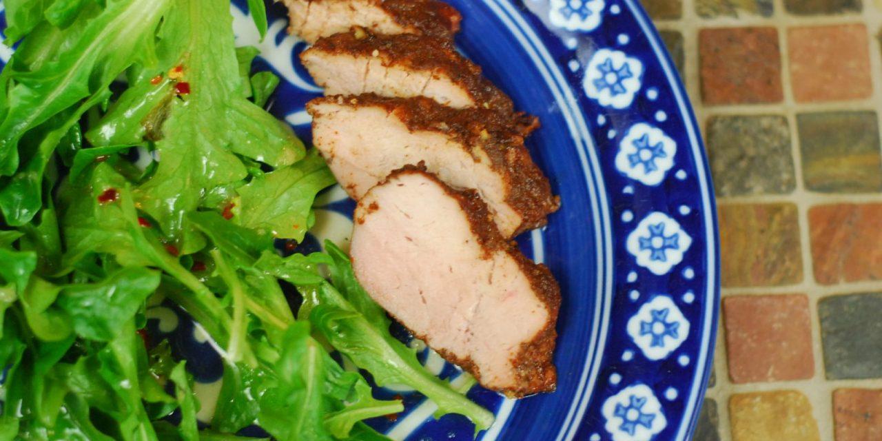 Grilled Island Spice Pork Tenderloin